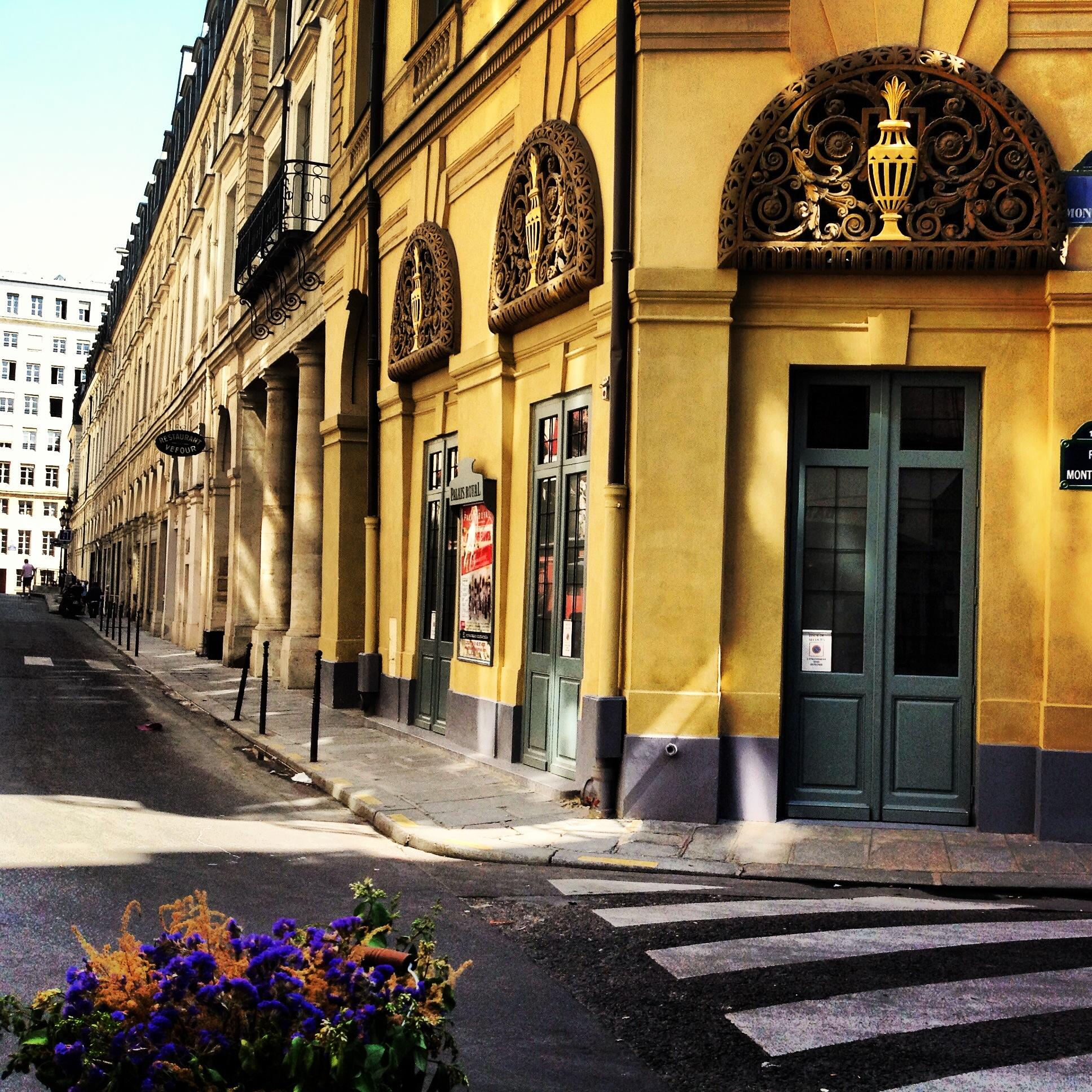 Paris streets rue de montpensier simply paris photos - Deco jardin nice rue barla versailles ...